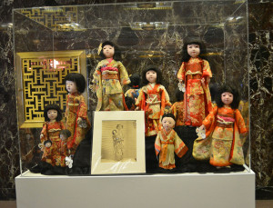Shirley Temple's Japanse Dolls
