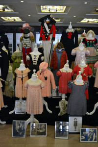 Close-Up of Shirley Temple Original Costumes