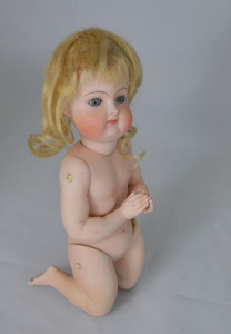 Kneeling Kestner All-Bisque Doll, circa 1880